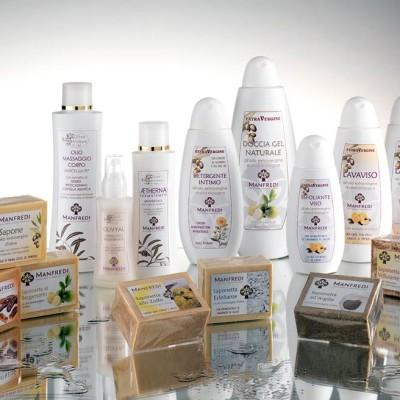 Saponi e cosmetici a base di olio extravergine d'oliva