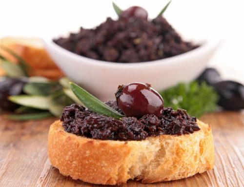 Ricetta paté di olive nere