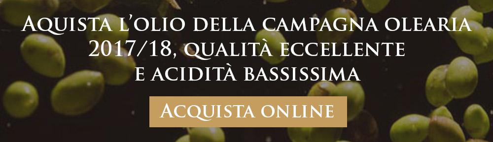Acquista l'olio extravergine di oliva